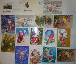 Классные ностальгические открытки времён СССР.