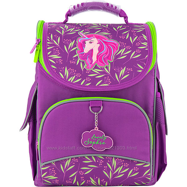 Рюкзак школьный каркасный Kite Education Lovely Sophie K20-501S-8