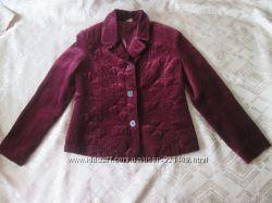 Пиджак вишневого цвета для девочки Украина