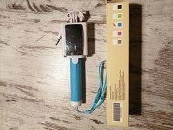 Монопод селфи-палка UFT SS10 новый цвет голубой