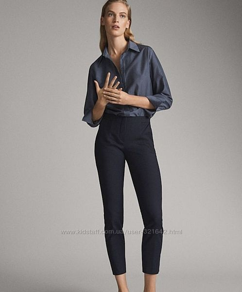 Брюки, штаны Massimo dutti 34р класичні брюки