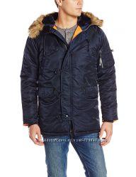 Зимняя куртка-парка Alpha Industries N-3B Slim-Fit Parka. XS -S -М - XL.