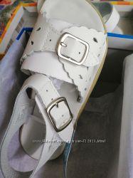 Новые нежные кожаные босоножки на липучках Jumping Jacks, р. 29, 18 см