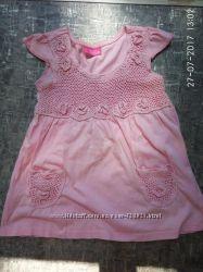 Туничка футболочка для принцессы 2 3 года Sweet Millie