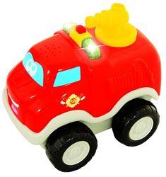 Развивающая игрушка kiddieland киддиленд пожарная машина музыкальная