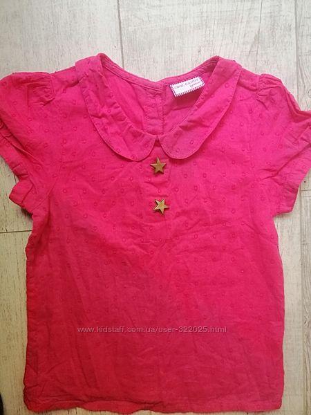 кофточка на принцессу блуза от cool candy на 4 5 6 лет нежнейшая тоненькая