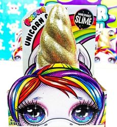 Пупси слайм Рог Единорога со слаймом и блестками Poopsie Unicorn Crush Sur