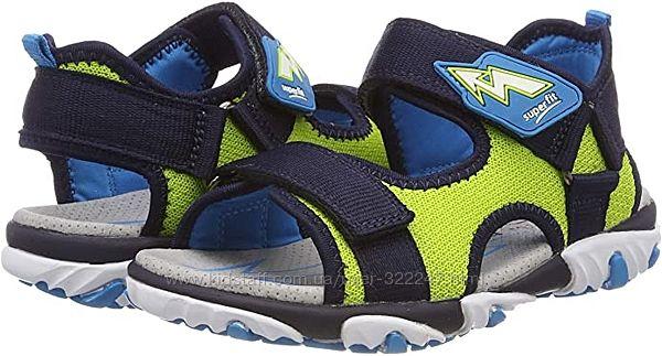 Яркие сандалии босоножки Суперфит 35 размер Superfit Jungen Mike