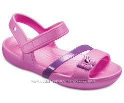 Crocs lina sandal размер 11с оригинал