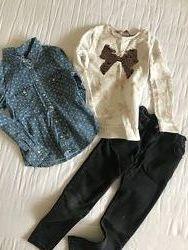 одяг 6-7 джинси рубашка свитер