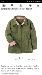 Легкая курточка Carters размер 7