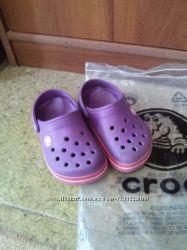 CROCS для девочки размер С 89