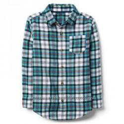 Фланелевая рубашка для мальчика 5-7, 7-9, 14 лет crazy8