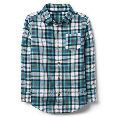 Фланелевая рубашка для мальчика 5-7, 10-12 лет crazy8