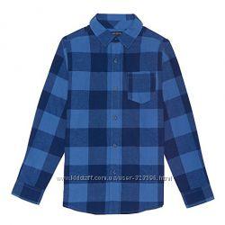 Фланелевая рубашка для мальчика 4Т из США