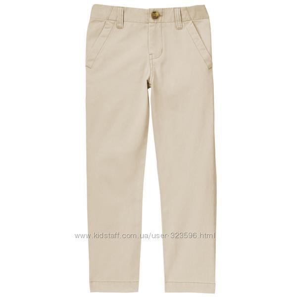 Штаны брюки чиносы для мальчика 7-8 лет Crazy