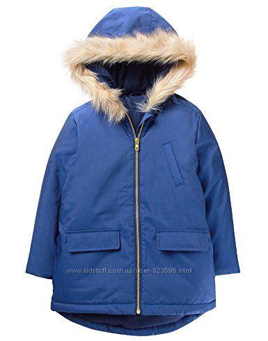 Парка куртка для девочки 7-8 лет Crazy