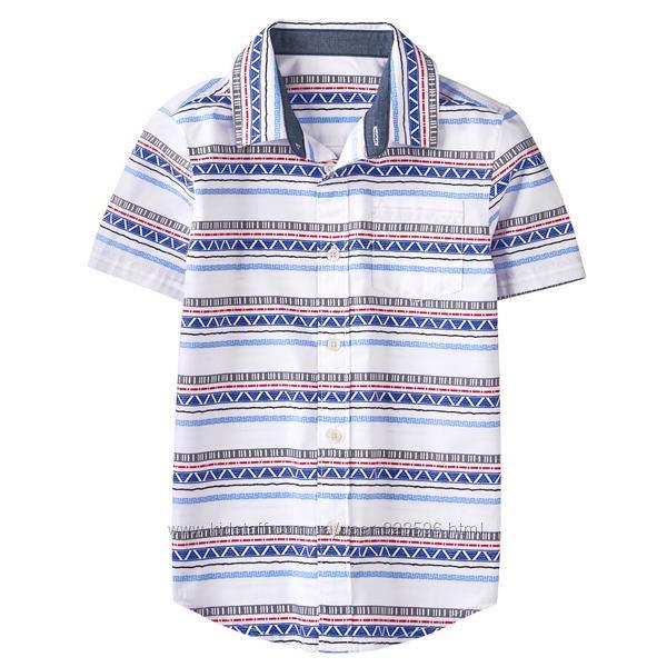 Рубашка для мальчика 7-9, 10-12 лет Gymboree
