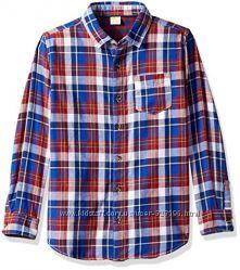Рубашка для мальчика 7-9, 10-12, 14-15 лет Crazy8