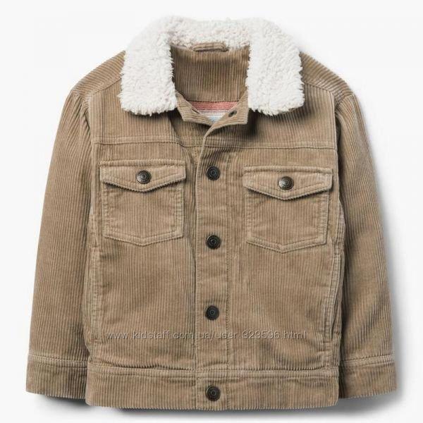 Вельветовая куртка для мальчика 4-5 лет gymboree