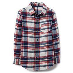 Фланелевая рубашка для мальчика 6-7, 7-9, 10-12 лет Crazy8