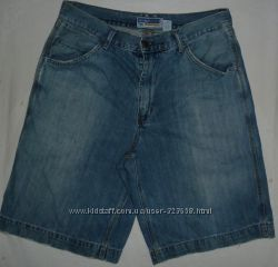 Джинсовые шорты бриджи Old Navy Workers W 33 Пояс-88 cм