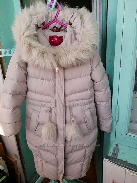 Куртка бу для девочки р. 128-134 Nui Very