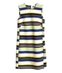 Платье сарафан плотная ткань h&m