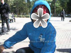 Куртка на флисе весна на 4-6 лет рост 104-116 см