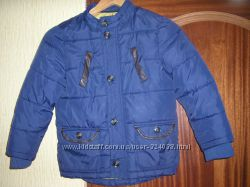Куртка на синтапоне на осень зима теплую 5-8 лет рост 116-134 см