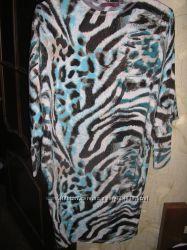 6f7db9d17aa Платье-туника летучая мышь Гранд юа батал 52-54р. стильное