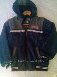 Куртка ветровка трансформер удобная на 6-9 лет рост 122-146 дешево