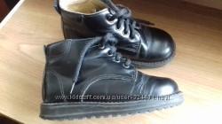 Кожаные ботинки для девочки 25р, ст. 15, 5-16 cм