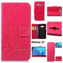 Чехол книжка Samsung Galaxy J3 J300 SM-J3109 J3 2015