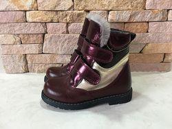 Зимние ортопедические ботинки Woopy Orthopedic