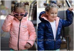 двухсторонняя куртка на девочку