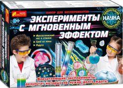 Юный химик Эксперименты с мгновенным эффектом набор юного химика