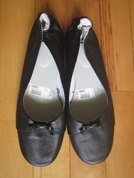 балетки Vagabond на узкую стопу 38 размер натуральная кожа