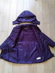 Испанское Деми пальто на девочку 128 рост
