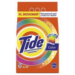 Tide Стиральный порошок 4.5кг автомат Color тайд пральний порошок для пранн