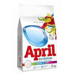 Безфосфатный стиральный порошок April Evolution 3D Автомат Color Protection
