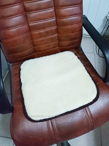 Шерстяная накидка на стул