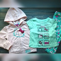 Костюм, комплект Hello Kitty Оригинал на девочку 18 месяцев