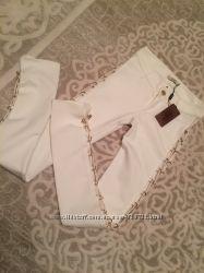 SOCIETA белые брюки леггинсы Италия