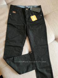 Брюки штаны черные 8-10 лет