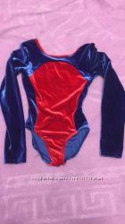 Купальник велюровый для танцев и гимнастики