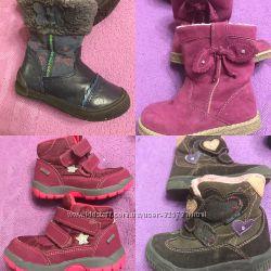 Демисезонные ботинки разные