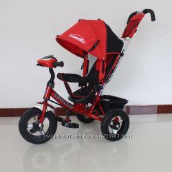 Детский трехколесный велосипед Tilly Camaro T-362, c фарой