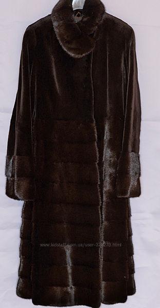 Легкое норковое пальто