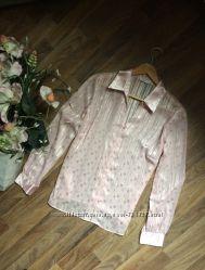 Розовая рубашка Marks&Spencer